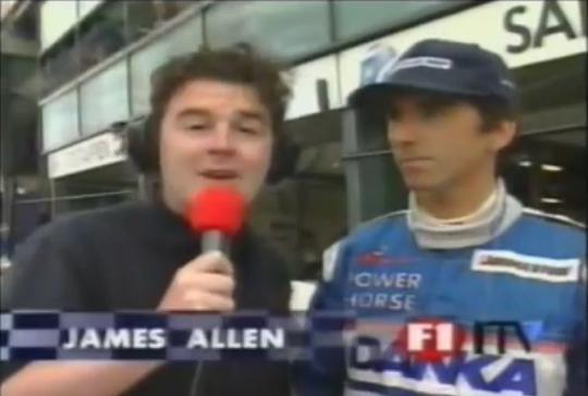 1997 Australian Grand Prix Qualifying - Allen and Hill