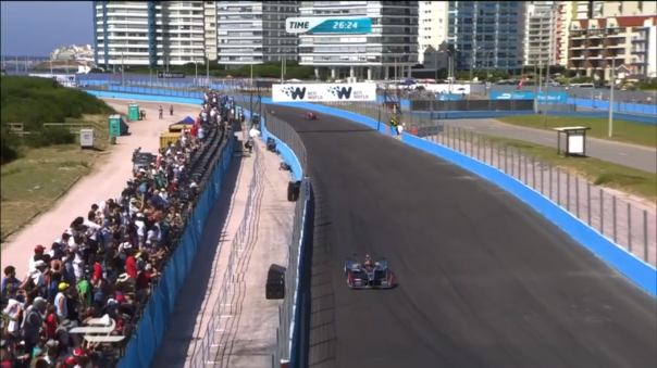 Stunning backdrops has been a key feature of Formula E. No desert races so far...