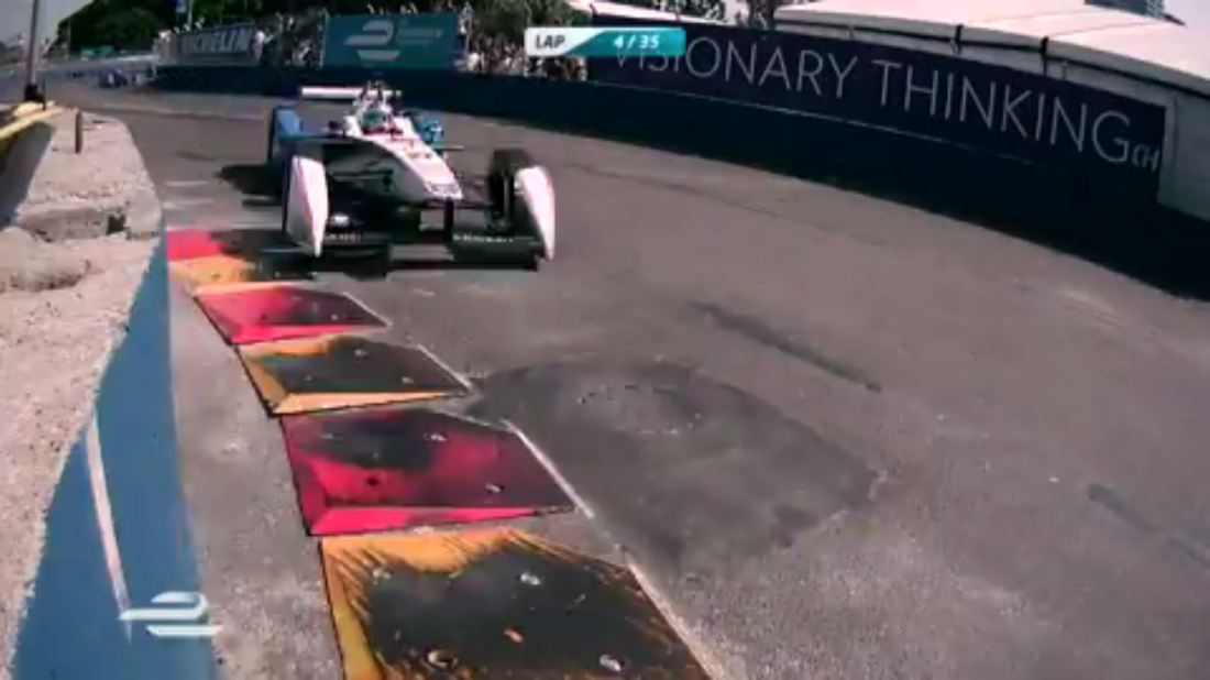 One of the many camera angles during the 2015 Buenos Aires ePrix.
