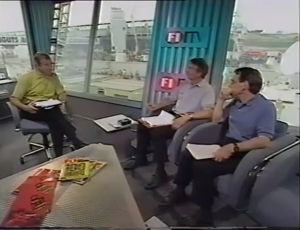 1997 Spanish GP - ITV studio