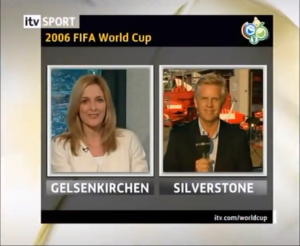2006 British GP - World Cup ITV