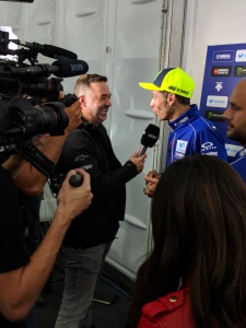 2018 British MotoGP - Emmett and Rossi